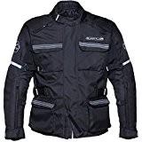 10826-0107 - Buffalo Scope Blouson de Moto/Scooter Pour Hommes XL (44) Noir
