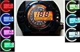199kmh LCD Digital Odomètre Tachymètre Speedo Compteur Vitesse Moto ATV Gear