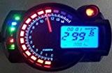 299kmh LCD Digital Odomètre Tachymètre Speedo Compteur Vitesse Moto ATV Gear pour Honda