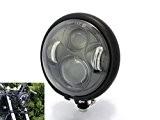 """5.75"""" Bates Style CREE LED Daymaker Phare pour Vintage Rétro Projet Personnalisable Moto"""