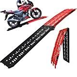 5144 - Black Pro Range B5144 Aluminium Folding Motorcycle Loading Ramp