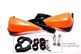 '7/8(22mm) 11/20,3cm (28mm) Guidon main en aluminium Protection Protection sécuritaire Brosse pour KTM Honda Yamaha Suzuki Kawasaki