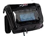 A-Pro GPS étanche Navi Pochette Support appareil de navigation Moto Noir