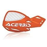 Acerbis Uniko Vented , Protège-mains universel avec kit de montage, orange/blanc
