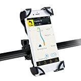 AGPtek Support Vélo du Guidon Support Bicyclette Moto Berceau Universel pour tous les smartphone 3.5--7pouce,Support pour iPhone4-7, Sumsung S, Note, ...