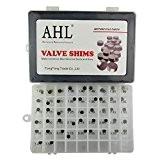 AHL 7.48mm Complete Hot Cams valve kit de cale Valve Shim pour Honda NX250 1988-1990/NRX1800 Rune 2004-2005/NPS50S Ruckus 2004-2005 (1x47pcs)
