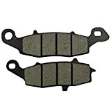 AHL- Motocyclette plaquettes de frein Avant gauche 1 Paire pour Kawasaki ER-6N (ER 650 A6F/A7F/A8F/C9F/CAF/CBF/B6F/B7F/B8F/D9F/DAF) 2006-2011