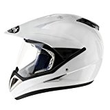 Airoh - Casque cross - S4 COLOR - Couleur : Blanc - Taille : XL