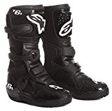 Alpinestars - Bottes cross - TECH 6S YOUTH BOOT - Couleur : Noir - Pointure : 2