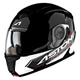 Astone Helmets Casque Modulable RT1200 Touring, Noir Blanc, L
