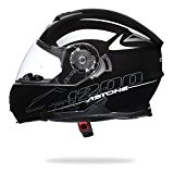 ASTONE RT1200 Casque Modulable Noir Verni XL 61 cm - XL 61 cm