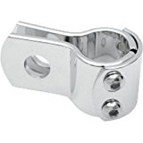 Attache universelle chrome - clamps moto harley 22mm
