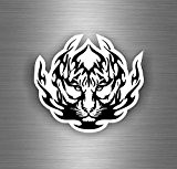Autocollant sticker voiture moto macbook tuning tigre tiger tribale tribal r1
