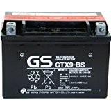Batterie GS GTX9-BS pour suzuki uH Burgman 1252002-201412V 8Ah avec acide