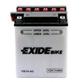 Batterie moto Exide YB14-A2 12v 14ah