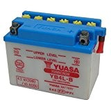 Batterie Yuasa YB4L-B (sans acide) 12V/4Ah pour piaggio vespa lX 2T (c38101) 502005-2008