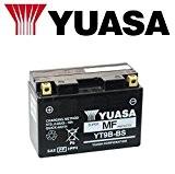 Batterie Yuasa YT9B-BS pour Yamaha XP T- MAX (sj031/sj051/sj032/sJ034sJ052) 5002004 - 200712V 8Ah avec acide