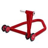 Béquille d'Atelier Arrière Ducati 848 08-10 ConStands Single One rouge