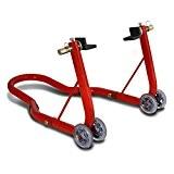 Béquille moto arriere ConStands Classic Universal rouge pour Yamaha XT 125 R/ X, XT 600 E, XT 660 R/ X/ ...