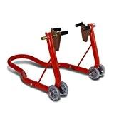 Béquille moto roue avant ConStands Classic Front rouge pour Suzuki SV 650/1000/ S, TL 1000 R/ S, TU 250 X ...