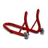Béquille moto roue avant ConStands Front Fork rouge pour Yamaha XJ 600 F/ N, XJ 600 S Diversion, XJ 900 ...