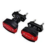 BJ Global haute qualité protection de crash de curseurs de cadre à gauche et à droite de moto Moteur de ...