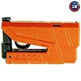 Bloque disque moto SRA ABUS Granit Detecto X-Plus 8077 Jaune