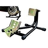 Bloque roue moto basculant béquille sabot de roue avant - Motostand 3015-L