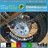 BMW Motorrad R1200GS F800GS 0282 Autocollants adhésifs intérieur roues 053 Blu leggero