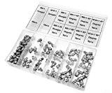 Boîte assortiments de graisseurs Raccords de Graisse M6 / M8 / M10 à 45 ° / 90 ° 115Pc