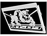 """cache radiateur / grille de radiateur MT-07 """"Bulldog"""""""