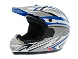 Casque cross adulte 2 FACE - Bleu - Taille XL
