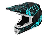 Casque cross adulte NO END Origami SC15 - Light Noir / Bleu - Taille M