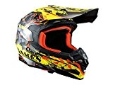 Casque cross adulte TRENDY X-Games - Noir / Jaune / Rouge - Taille L