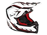 Casque cross NO END Defcom 5 - Rouge - Taille L