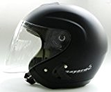 Casque Helmet Helme Jet Bayard XP 40Noir mat TG L