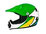 Casque moto cross enfant TNT X2 - Brazil - Taille S