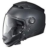 CASQUE MOTO MODULABLE NOLAN N-COM 25 N44 SPECIAL BLACK GRAPHITE GRAPHITE NOIR TAILLE XS