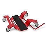 Chariot de déplacement Moto ConStands pour béquille central rouge pour Kawasaki GPX 600/ 750 R, GPZ 1100, GPZ 500 S, ...