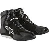 Chaussures Alpinestars FASTBACK WATERPROOF 2014 - 45 - Noir/Blanc