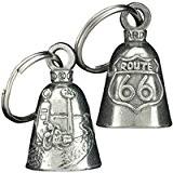 Clochette Route 66 porte-bonheur moto Guardian Bell