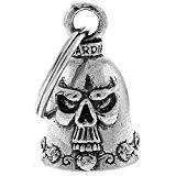 Clochette skull porte-bonheur moto Guardian Bell