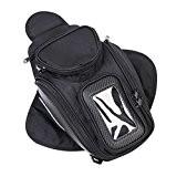 CONMING Moto Magnetic Oil Sac de réservoir de carburant Knight Pack Paquet Imperméable Oxford tissu GPS Travel Riding Bag Noir ...