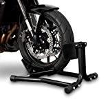 ConStands Béquille cale de roue moto avant Easy Black Harley Davidson Night-Rod (VRSCD)