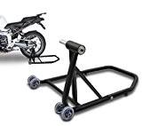 ConStands Single Béquille d'atelier Ducati Monster 796 10-14 noir mat, Monobras adaptateur inclus