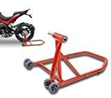 ConStands Single Béquille d'atelier Ducati Monster 796 10-14 rouge, Monobras adaptateur inclus