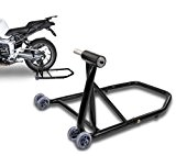 ConStands Single Béquille d'atelier Ducati Xdiavel 16-17 noir, Monobras adaptateur inclus