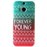 Coque Housse pour HTC One M8, HTC One M8 Coque Silicone Etui Housse, HTC One M8 Souple Coque Etui en ...