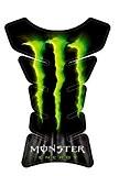 Coussin de réservoir de carburant universel pour motos Energy Monster Design