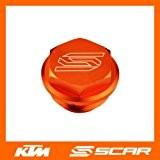 Couvercle bouchon de maitre cylindre frein arrière KTM SX SXF EXC EXCF SMR 125 250 350 450 Ornage Scar
